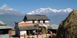 Yoga und Trekking im Himalaya zum Annapurna Base Camp